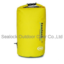 2014 yellow beach dry bag for outdoor sports waterproof